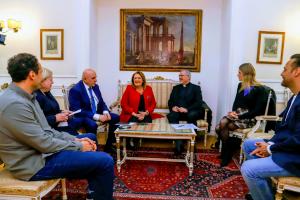 President Rome Meeting